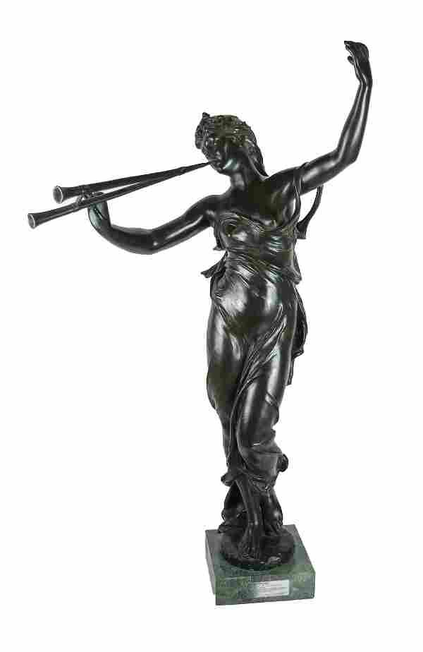 Eugene MARIOTON: French Bronze Statue