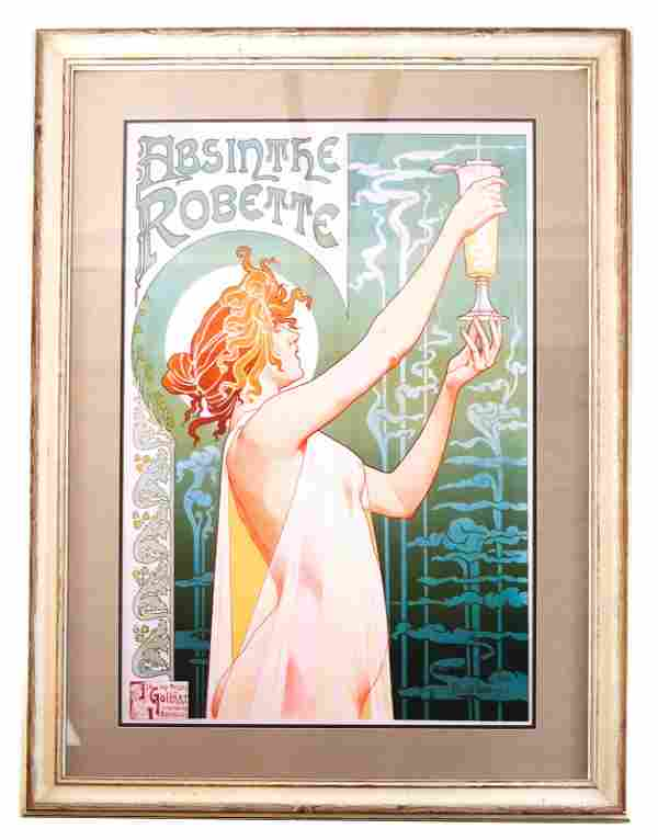 Henri Privat-Livemont: Absinthe Robette - Print