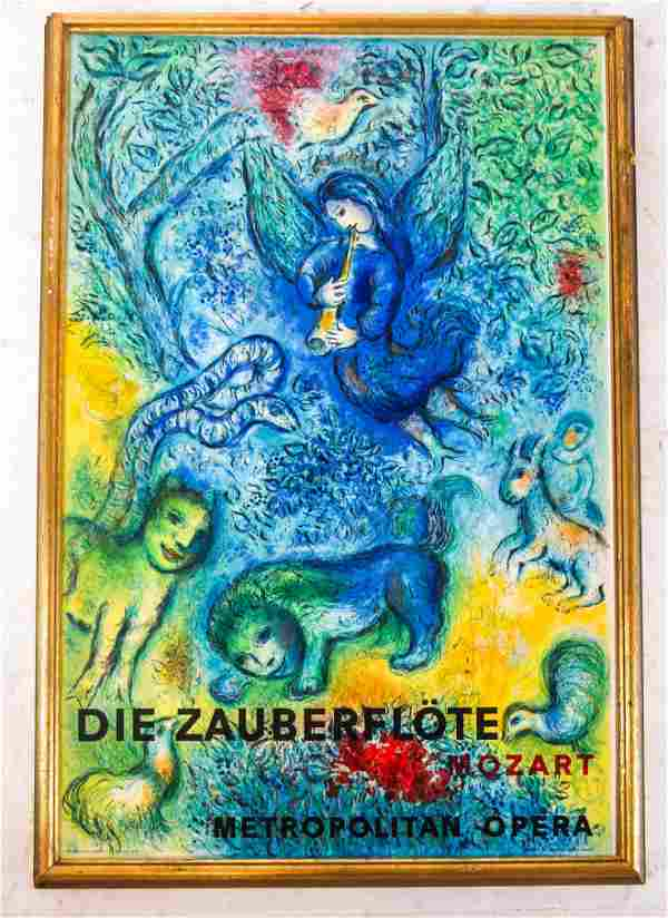 Marc Chagall Poster for Mozart's The Magic Flute