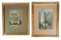 """Glenn Cooper HENSHAW: """"Chicago"""" - Paintings"""
