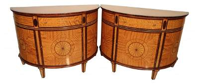 Pair of Regency-Style Cabinets