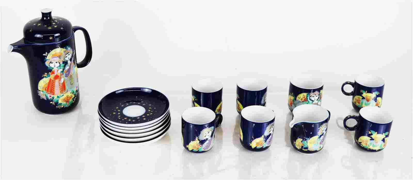 Bjorn Winblad for Rosenthal Demitasse Set