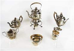 Peter Guille Sterling Silver Tea Set