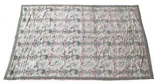 French Silk Needlepoint Tapestry