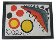 Alexander CALDER Serpents  Lithograph