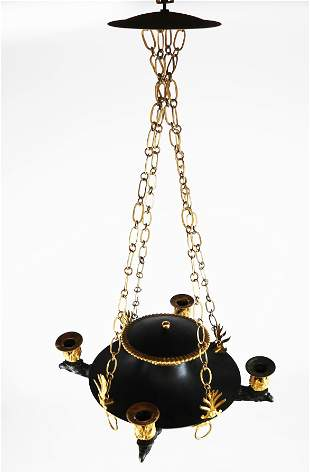 19th C. French Empire Chandelier