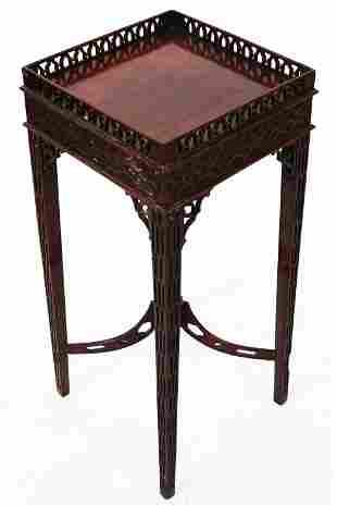 George III-Style Mahogany Tea - Urn Stand