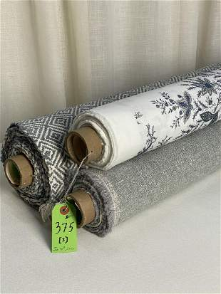 Holly Hunt, Ratti Print and Chenille Fabrics