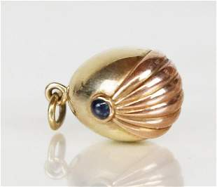 Pink & Yellow Gold Russian Egg