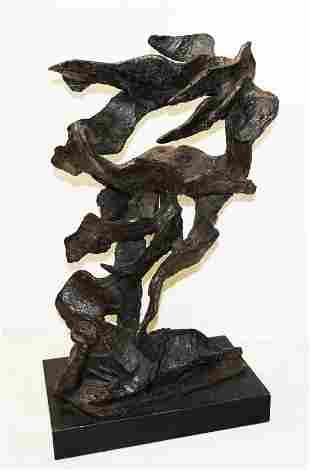 Nathan RAPOPORT: Abstract Bronze Man