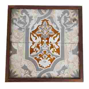 Two-Section Framed Tile