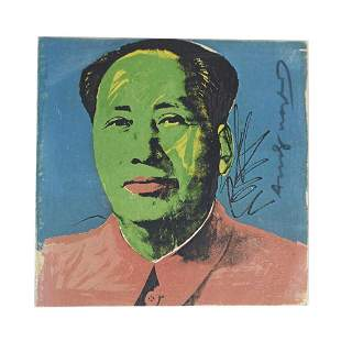 "Andy WARHOL: ""Mao"" Invitation - Lithograph, 1972"