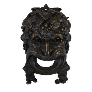 Bronze Theatrical Mask