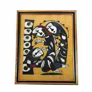 Sadao WATANABE: Beggar & Saints - Print