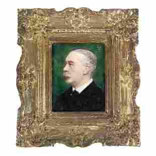 George SEPHTON: Portrait - Painting