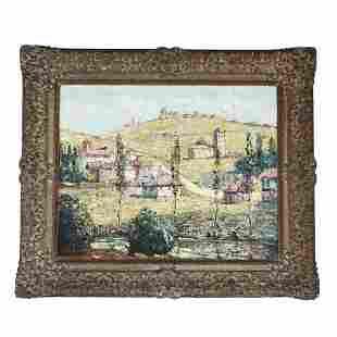 "Ernest LAWSON: ""Hillside Landscape"" - Painting"