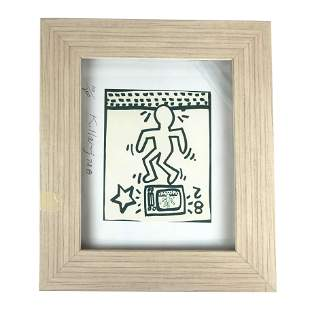 "Keith HARING: ""Figure 82"" - Lithograph"