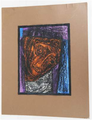 THEO: Abstract Portrait -Painting