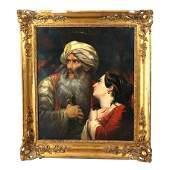 Portrait of Ali Pasha and Kyra Vasiliki