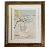Salvador DALI: Helen of Troy - Etching