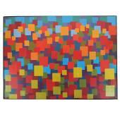 """John T. AXTON: """"San Juan Cliffs"""" - Oil Painting"""