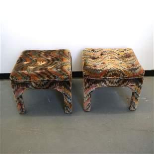 Pair Mid-Century Modern Benches
