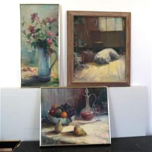 Mary P. McLAUGHLIN: Three Paintings