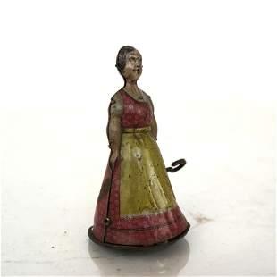 Vintage German Toy - Walking Woman