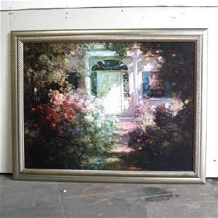 Framed Impressionist Print