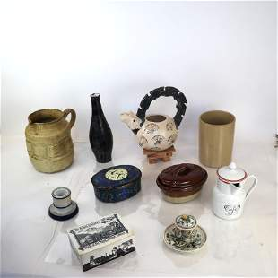 Assorted Table Articles