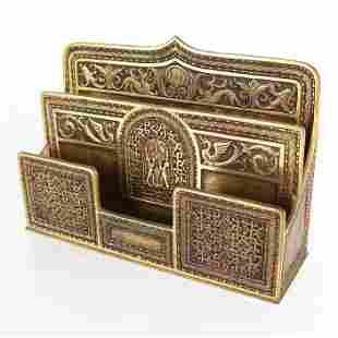 Rare Tiffany Studios, NY Letter Box