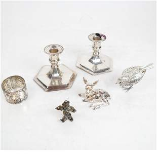 Christofle Silver Plate Animals, Other Sterling