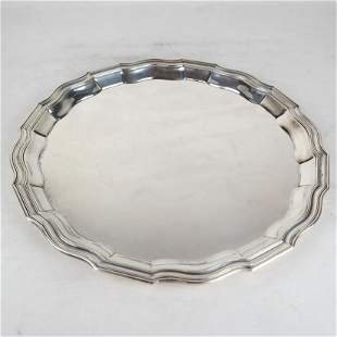 Tiffany & Co. Makers Sterling Silver Tray