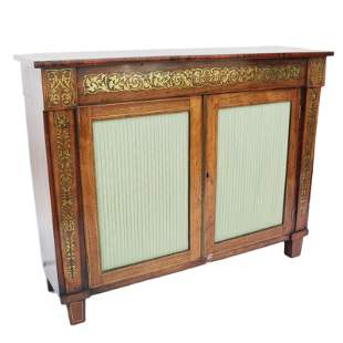 Regency Inlaid Rosewood Cabinet