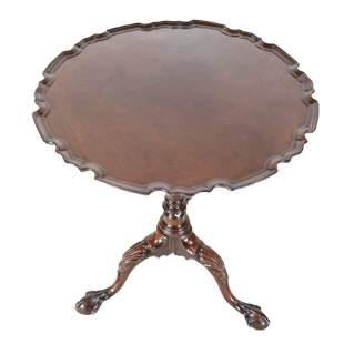 George III Mahogany Kettle Stand / Tilt Table