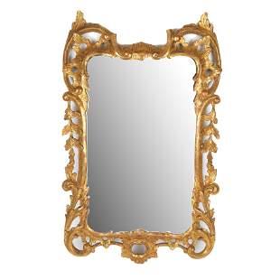 George III Gilt Wood Mirror