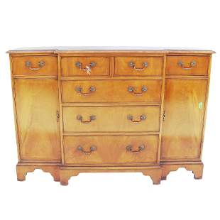 George III-Style Walnut Chest of Drawers