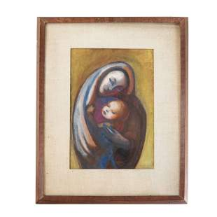 Nellay DANCE: Woman & Child - Painting