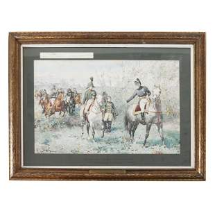 "F. de Myrbach-Rheinfeld: ""Napoleon"" - Painting"