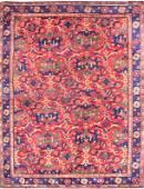 Antique Turkish Ushak Rug 17.75 x 14.75 FT