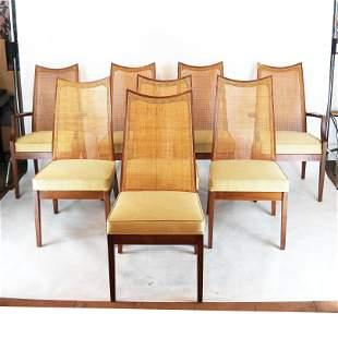 Set of 8 John Stuart 20th C. Modern Dining Chairs