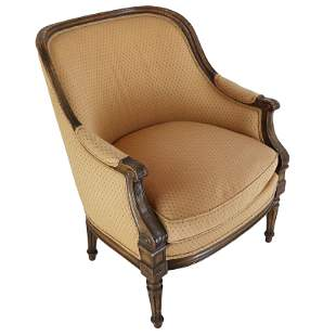 French Louis XV-Style Bergere