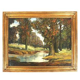 Miles J. EARLY: Landscape - Oil Painting