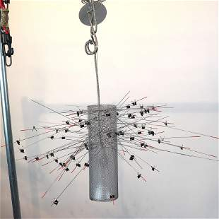 "Ingo MAURER: ""Paper Notes"" Ceiling Light Fixture"