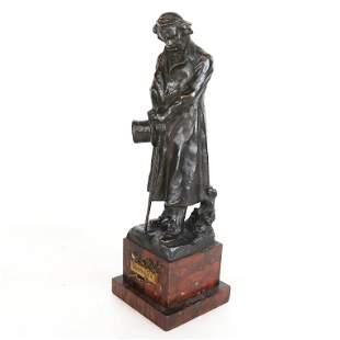 Hans MULLER: Sculpture of Beethoven