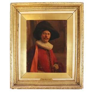 Alex de ANDRIES: Dutch Magistrate - Oil Painting