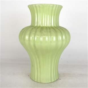 Arts and Crafts Glazed Porcelain Vase
