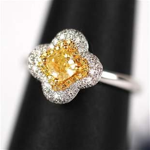 Cirari Couture Yellow Diamond Ring
