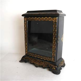 Antique English Table Top Display Case