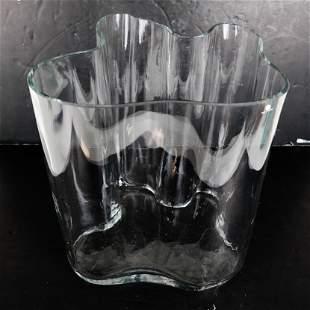 Alvar AALTO: Large Freeform Vase, Signed
